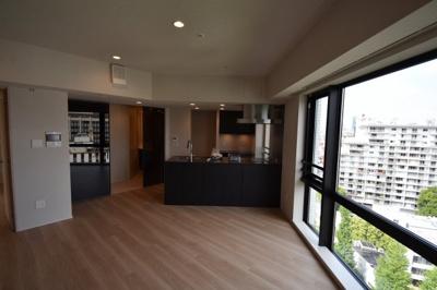 【居間・リビング】白金台の高級新築 欲しかったのはこの眺望のある2LDK Briillia ist 白金台