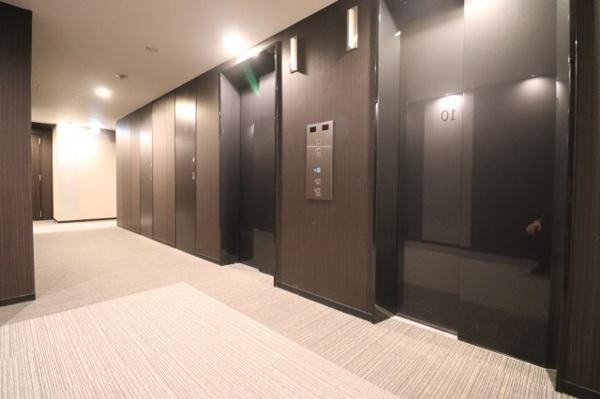 【共用部】各階数のEVホールです。(10F)