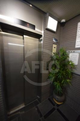 ヴァンシス難波南 エレベーター