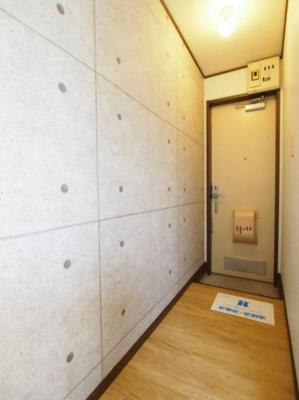 【玄関】ハイム多摩