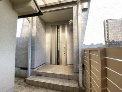 【玄関】丹波篠山市小中 中古住宅