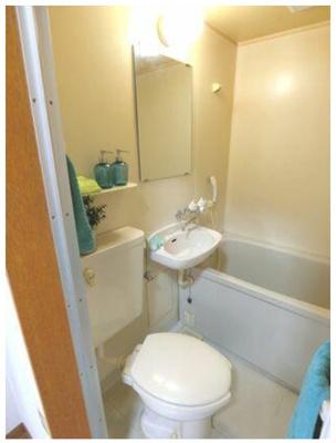 【浴室】【一棟売りアパート】富士見市◆満室稼働中!
