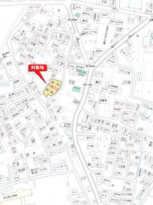 【地図】裾野市佐野山神分譲地 区画1