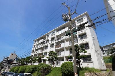 【外観】上高丸住宅B棟