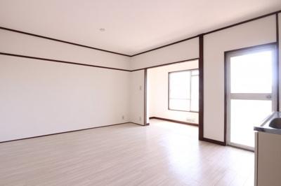 【居間・リビング】上高丸住宅B棟