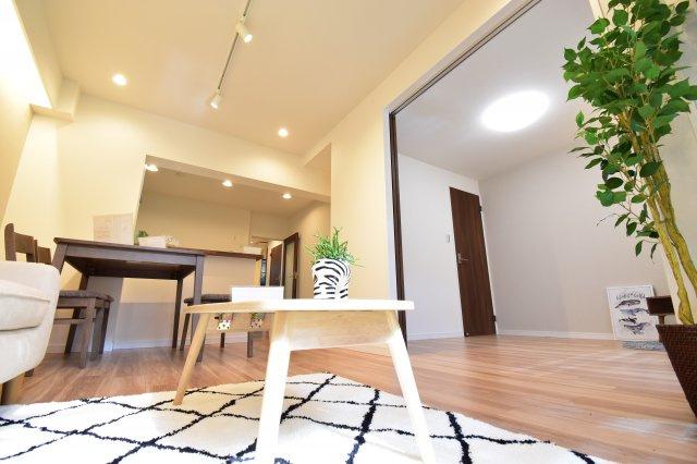 こんなマンションに住みたいな。そんな声が聞こえてきそうなセンス溢れるリノベーション済みマンション。