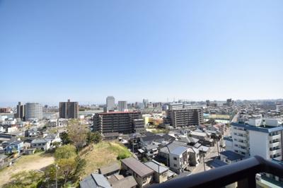 周りに高い建物が無いので素敵な眺望が望めます♪