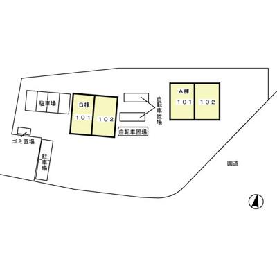 【区画図】G・Mウエストハイツ