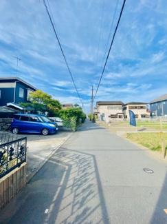 【前面道路含む現地写真】売地 辻堂元町 5丁目 全5区画の分譲地です