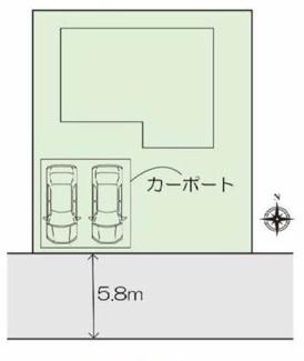 【区画図】高崎市萩原町 中古戸建