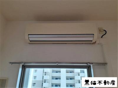 エアコンが全居室についております。