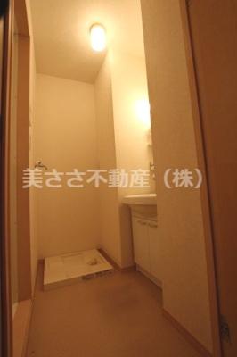 【洗面所】アムールMANAKA