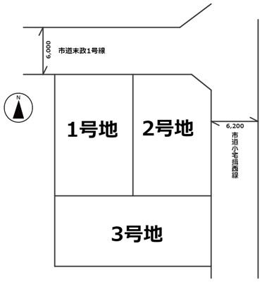 【区画図】たつの市龍野町末政3号地