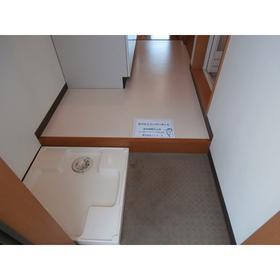 プレステージ幕張の室内洗濯機置場