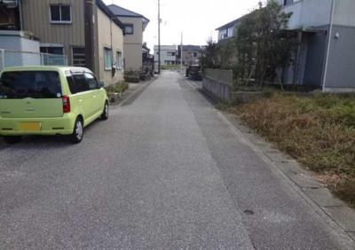 【前面道路含む現地写真】高知市仁井田