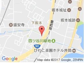 【地図】グランドーム比叡