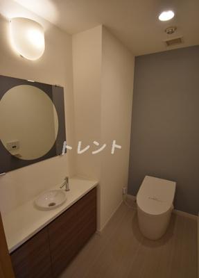 【トイレ】三田トラストスクエアレジデンス