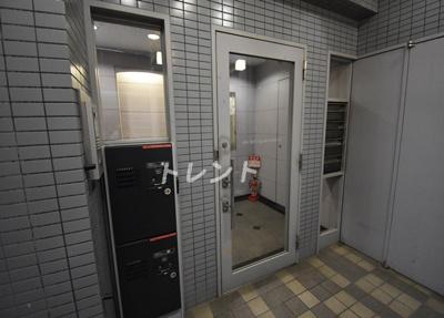 【エントランス】三田トラストスクエアレジデンス