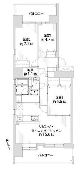 のむら貝塚ガーデンシティ六番館