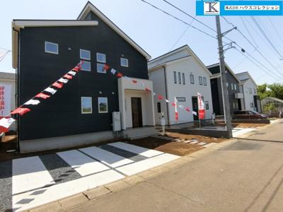 【外観】龍ヶ崎市長山3期 新築戸建 1号棟