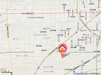 【地図】フォブールたまい・