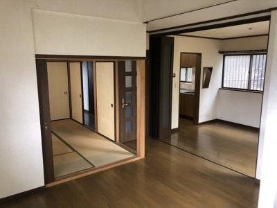 【居間・リビング】西宮市すみれ台2丁目