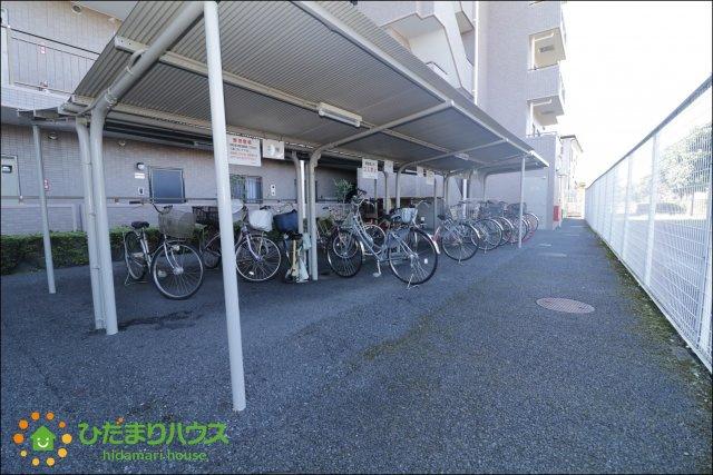 自転車の置き場にも困りません。