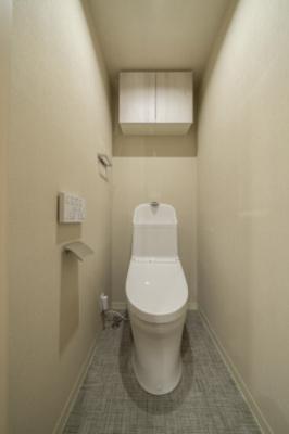 【トイレ】麻布十番セントラルハイツ