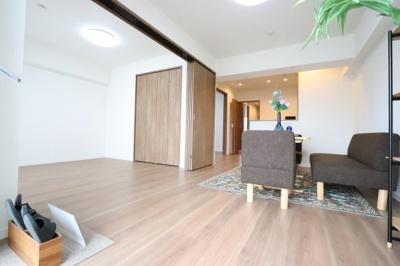 ゆったり過ごせる居間です 三郷新築ナビで検索