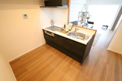 お料理しやすいキッチンです 三郷新築ナビ