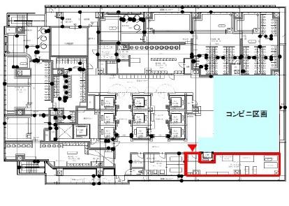 【区画図】アパホテル&リゾート(大阪梅田駅タワー)