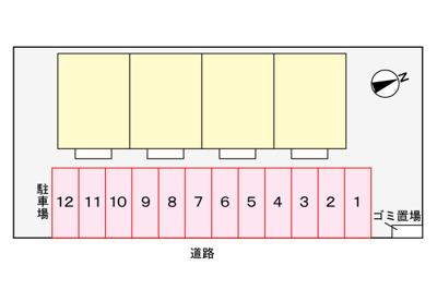 【区画図】イーストレジデンス