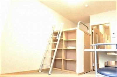 お部屋カスタマイズ施行可能なので、賃貸でも自分らしいお部屋に