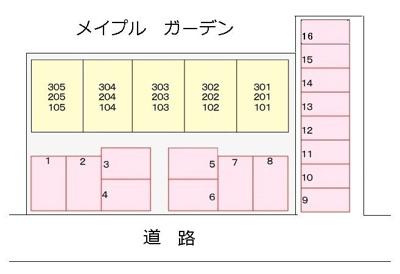 【区画図】メイプルガーデン