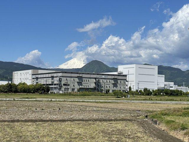 富士山が遠望できます。