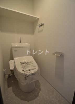 【トイレ】ジェノヴィア新中野スカイガーデン