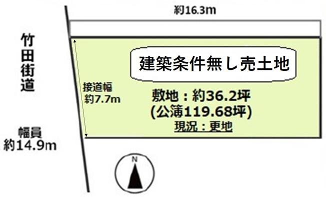 【土地図】南区東九条中御霊町