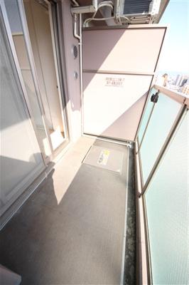 【バルコニー】エステムプラザ大阪城パークフロント