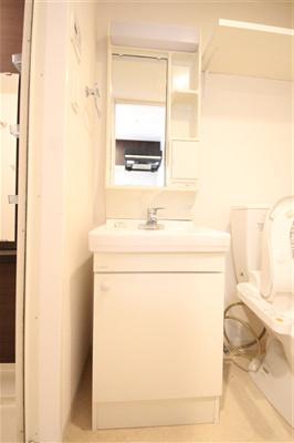 【洗面所】エステムプラザ大阪城パークフロント