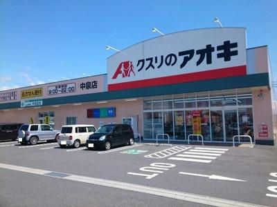クスリのアオキ中泉店まで550m