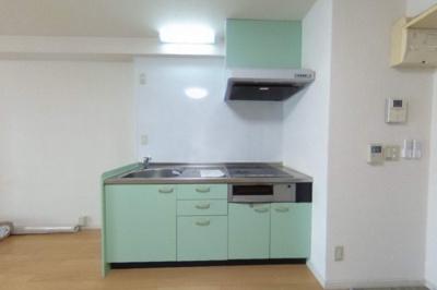 システムキッチン(IH2口)