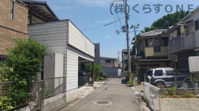 【前面道路含む現地写真】姫路市御立中5丁目/中古戸建