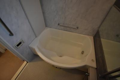 大きなお風呂が特徴的です。