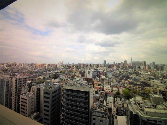 ※17階からの眺望です。【パークコート文京小石川ザ・タワー】