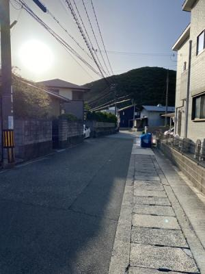 【前面道路含む現地写真】赤穂市尾崎/土地