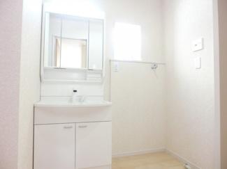洗面所施工例です。