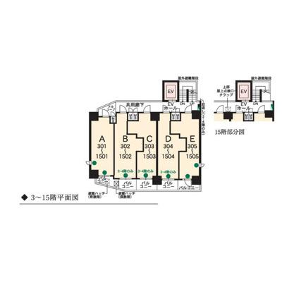 【区画図】エステムコート名古屋千種グレイス