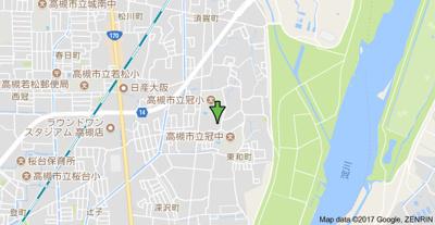【地図】アーバンライフフミ (株)Roots