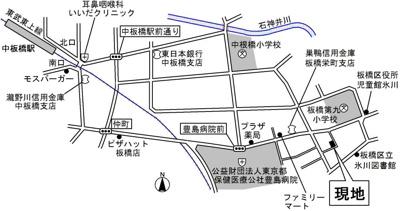 【地図】ルピナスガーデン