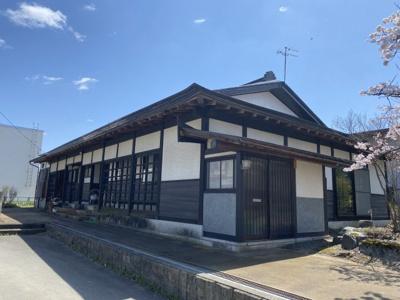 【外観】高畠町大字福沢 平屋中古物件